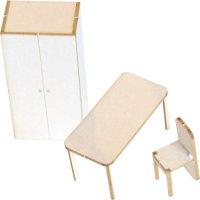 Modellhaus-Mobiliar / Inneneinrichtung (nicht individualisierbar)