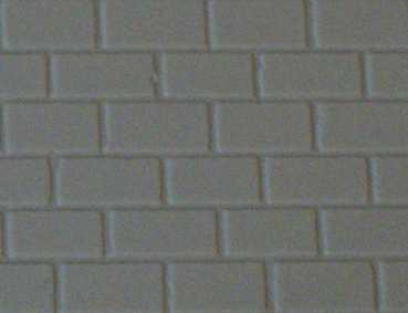 Gepr&auml;gte Kunststoffplatte<br/>(H0 Mauerwerk, beige-grau)
