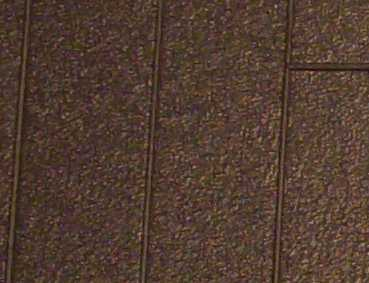 Gepr&auml;gte Kunststoffplatte<br/>(H0/TT Teerpappe, anthrazit)