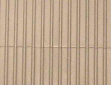 Gepr&auml;gte Kunststoffplatte<br/>(H0/TT Trapezblech, grau)
