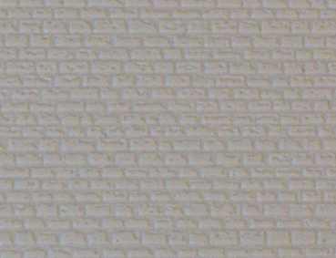 Gepr&auml;gte Kunststoffplatte<br/>(N/Z Mauerwerk, beige-grau)