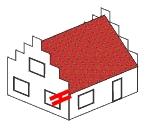 Trauf-Dachüberstand