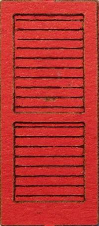 Brettertür rot (1:87)