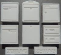 Briefkästen / Zeitungsröhren (nicht individualisierbar)