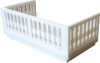 Balkon mit durchbrochenem Geländer (1:87)