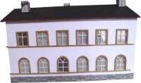 Vergrößern: Bahnhof Bad Kösen, Wohnhaus (1:44)