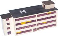Krankenhaus, gestaltet über meinmodellhaus.de