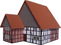 Vergrößern: Lippisches Wohnhaus in 1:100