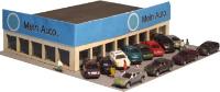 Vergrößern: Modell-Autohaus in 1:220