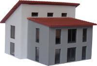Vergrößern: Pultdachhaus im Maßstab 1:120