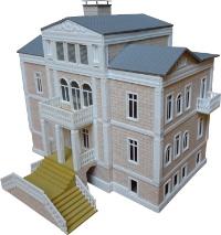 Vergrößern: Villa, inspiriert durch Baden-Badener Vorbild